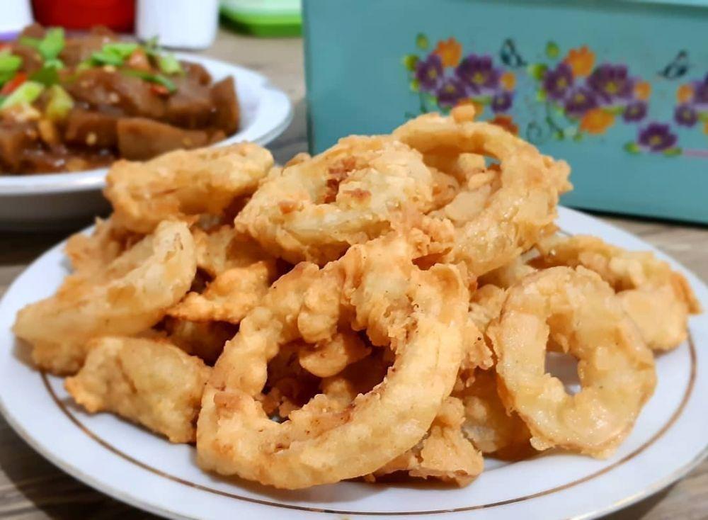 10 Cara Membuat Onion Ring Kekinian Crispy Dan Mudah Instagram Camilan Makanan Penutup Mini Makanan Dan Minuman