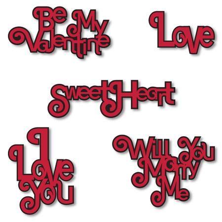 Download Valentine Word Art SVG on Craftsuprint - Add To Basket ...