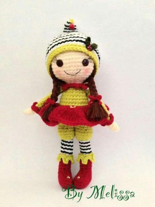 Pin de oli en muñecos a crochet | Pinterest