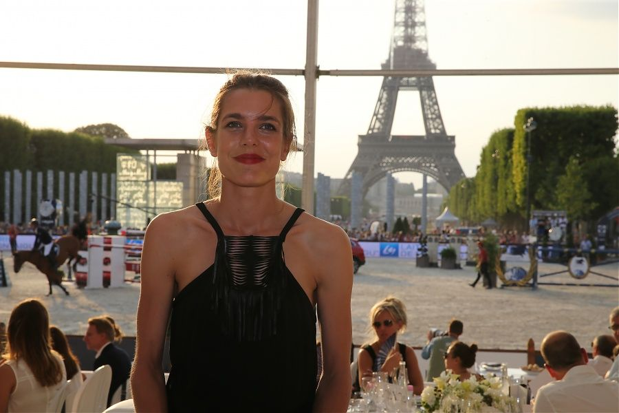 Charlotte Casiraghiat Day 3 of the GCT in Paris |July 5, 2015