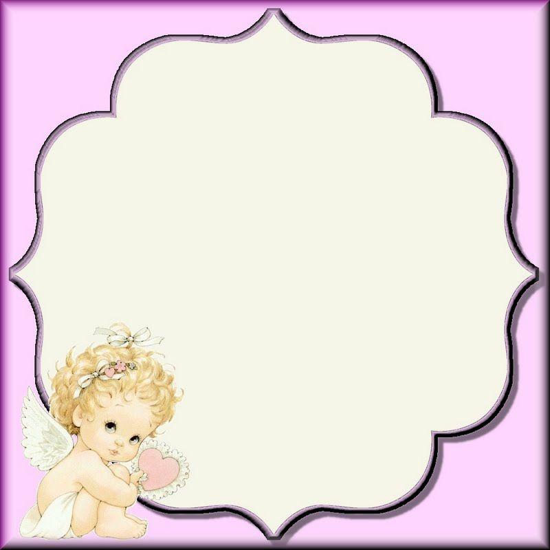 BABY ANGEL FRAME | FRAMES / BORDERS / CORNERS | Pinterest