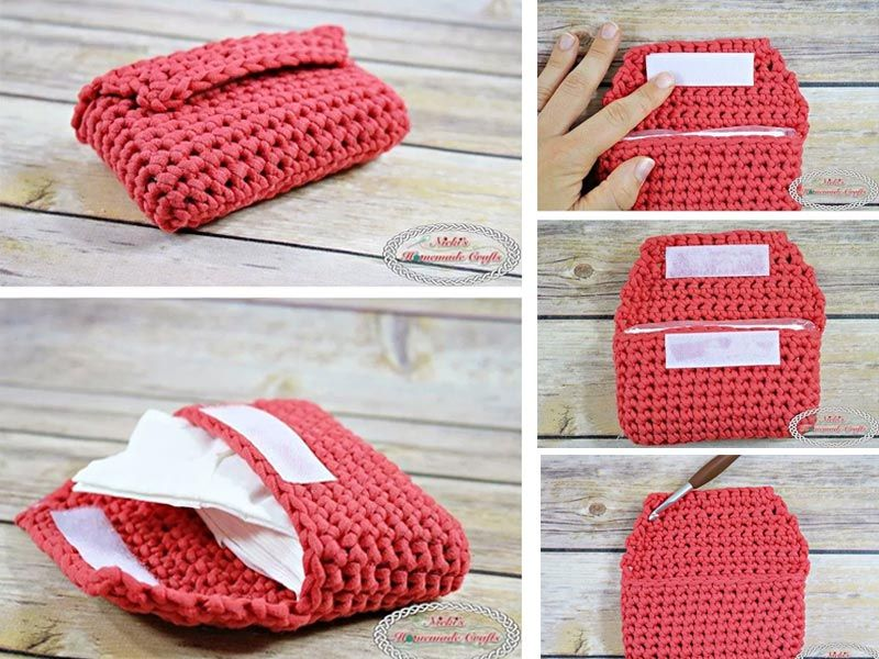 Small Tissue Pouch Free Crochet Pattern | Knitting | Pinterest ...