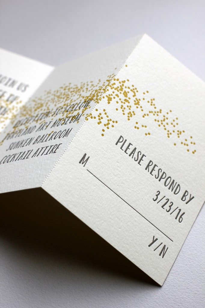 Letterpress Klappkarte Herzdiamant