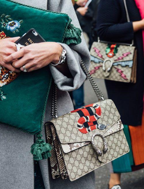 2cebf1c675b34f In the Mood: Dionysus Fever   Gucci Dionysus Bag Street Style   Lovika.com