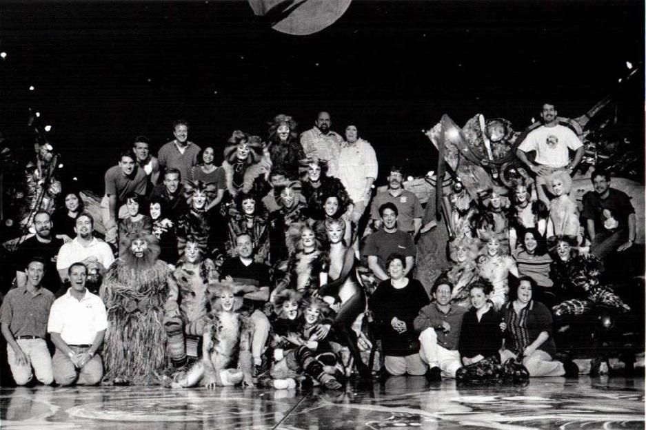 CATS Cast and Crew in Spring 1998 (With images) Cats