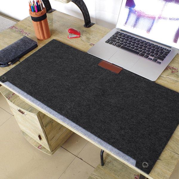 7 39 Aud Multi Function Large Size Keyboard Felt Mouse Pad Writing Desk Mat Organizer Ebay Electronics Diy Mouse Pad Mouse Pad Desk Mat