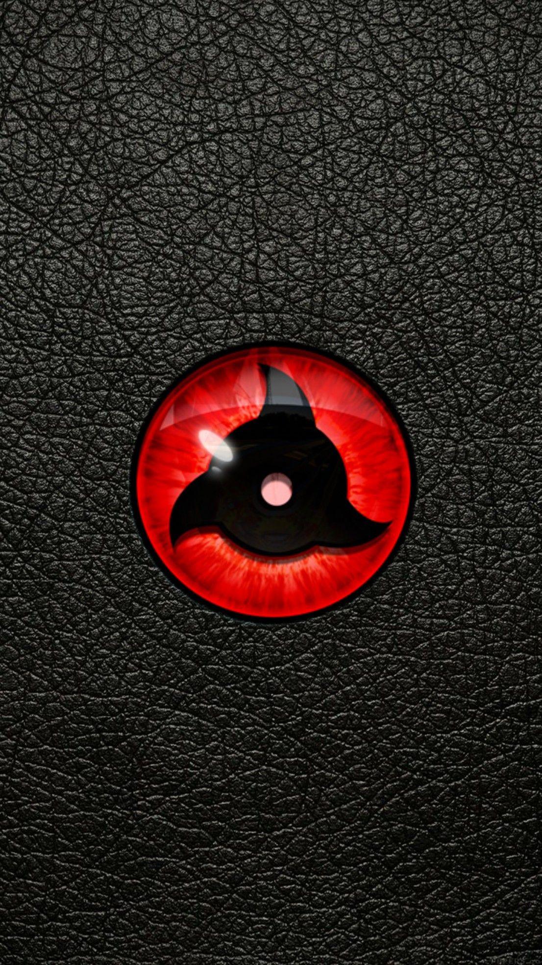 Naruto Sharingan Eyes Black Wallpaper Android Iphone