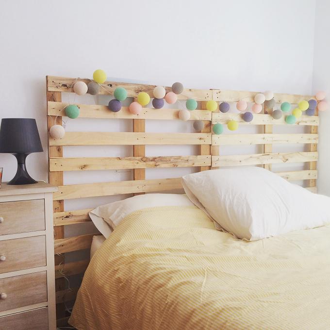 Resultado de imagen para cama de tarimas | Muebles de tarimas ...