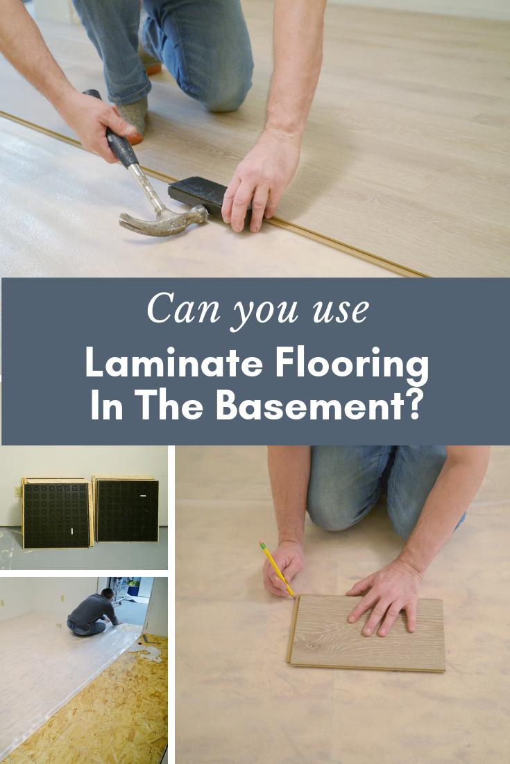Laminate Flooring Installing, How To Install Laminate Flooring On Basement