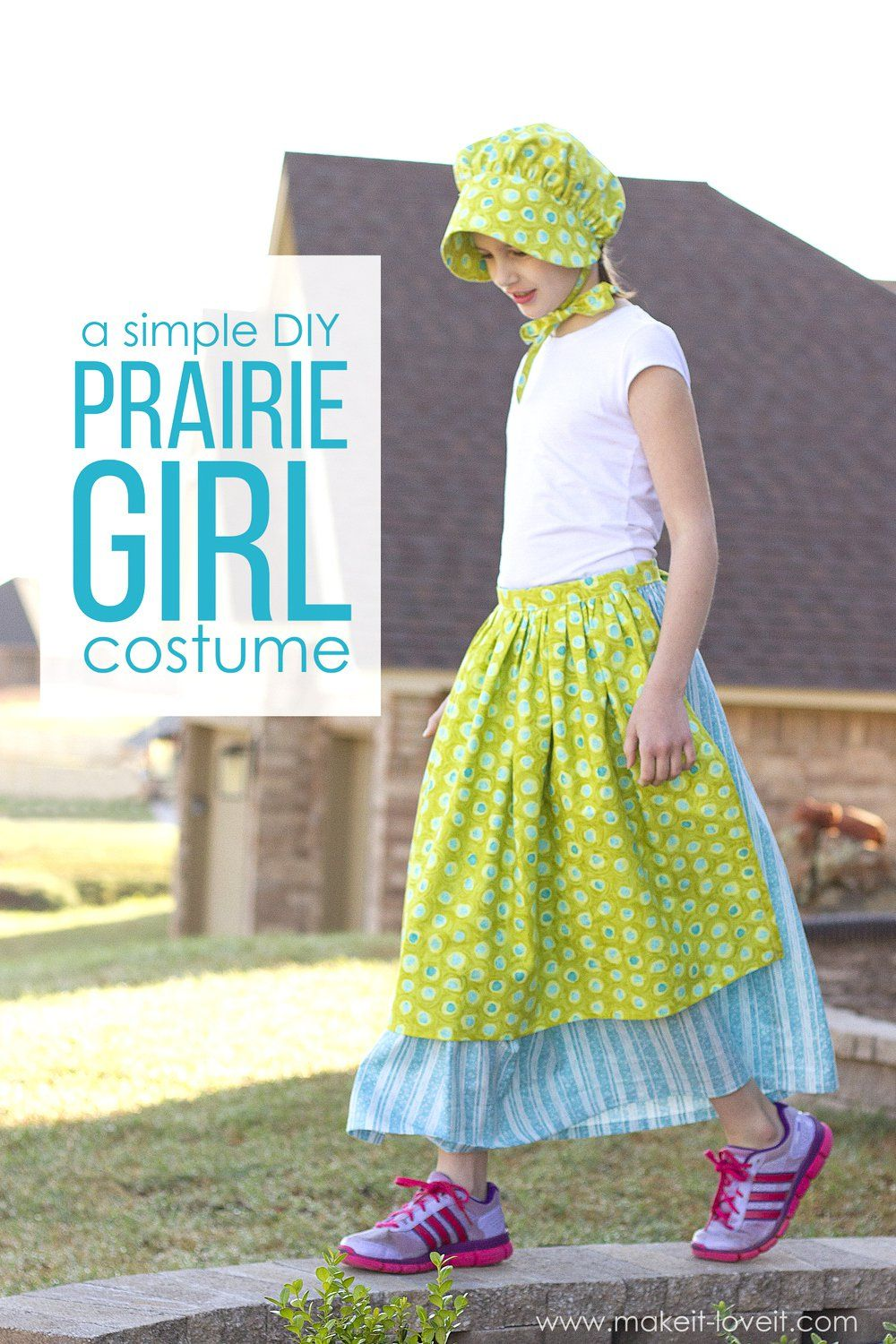 Simple Diy Prairie Pioneer Girl Costume Entertain
