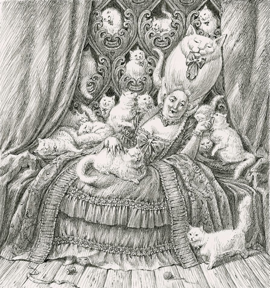 the character of 'Gertrude' from Mervyn Peake's 'Gormanghast'