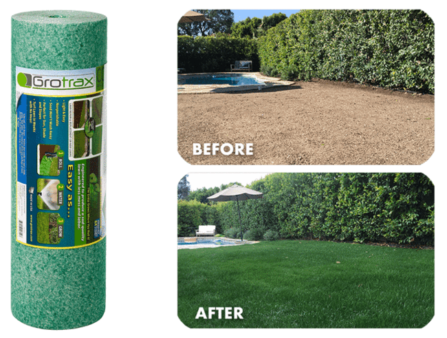 Grotrax New Lawn 200 Sq Ft Roll Lawn Planting Grass Seed Growing Grass From Seed