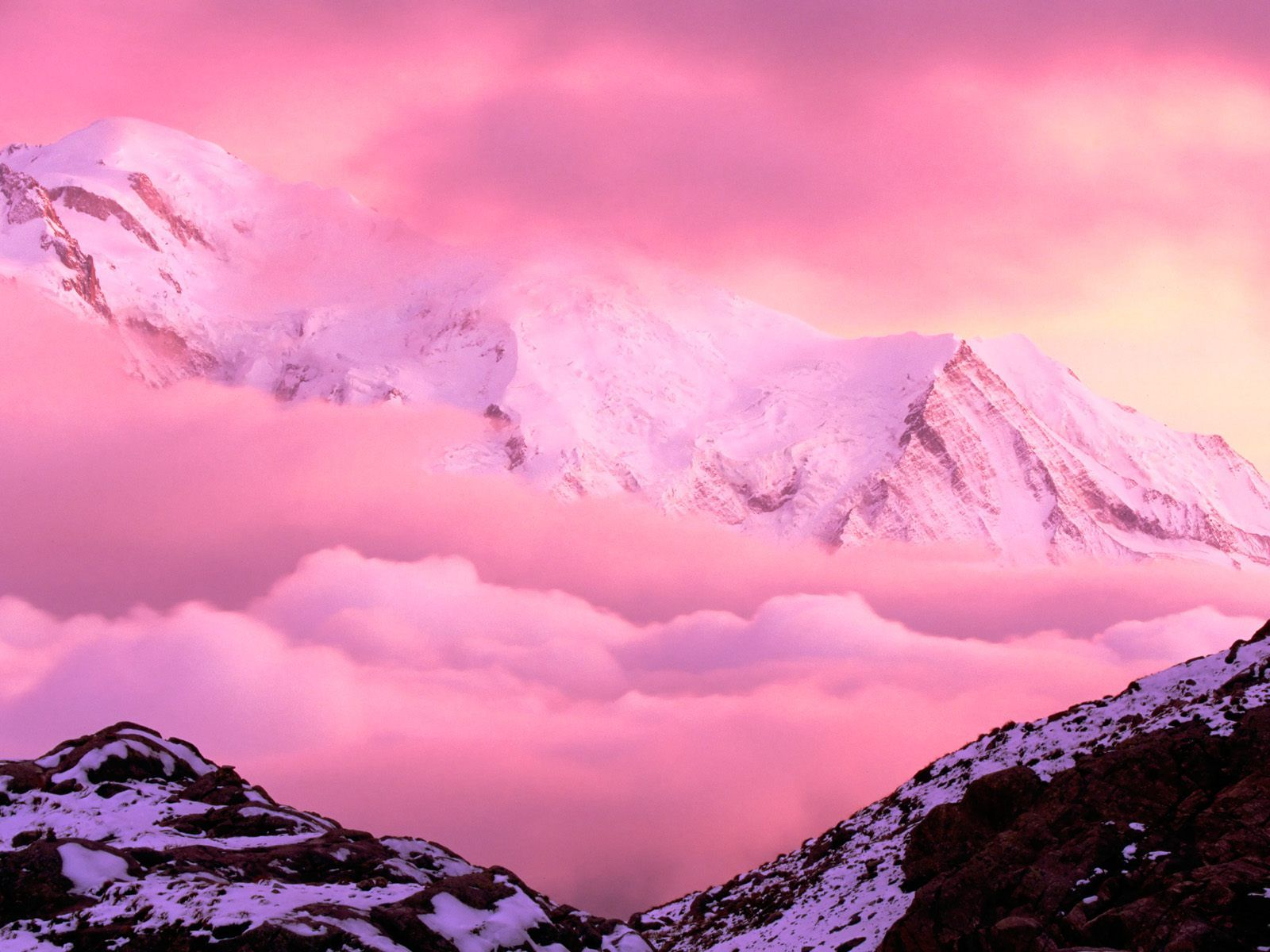 Mont Blanc, French Alps: