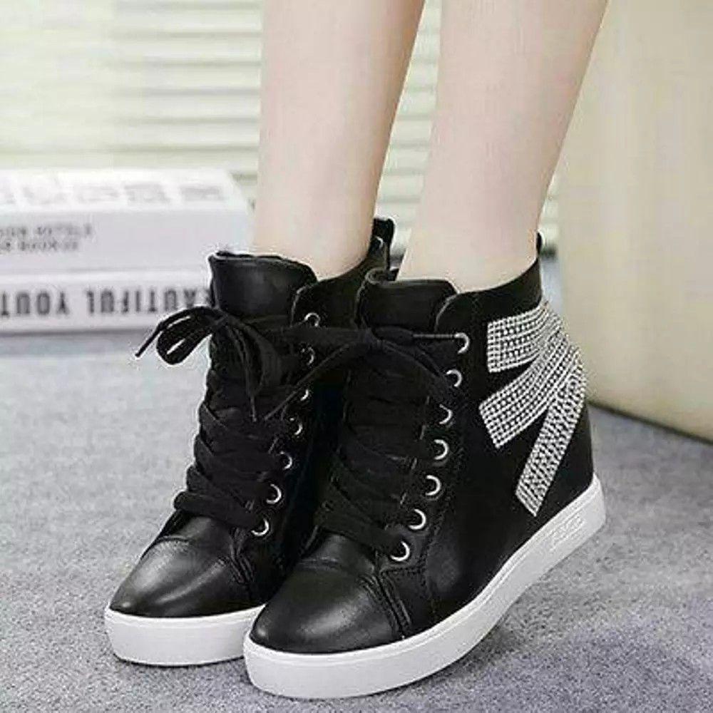 Sepatu Boots Wanita Korean Style Sepatu Boots Sepatu Model Pakaian