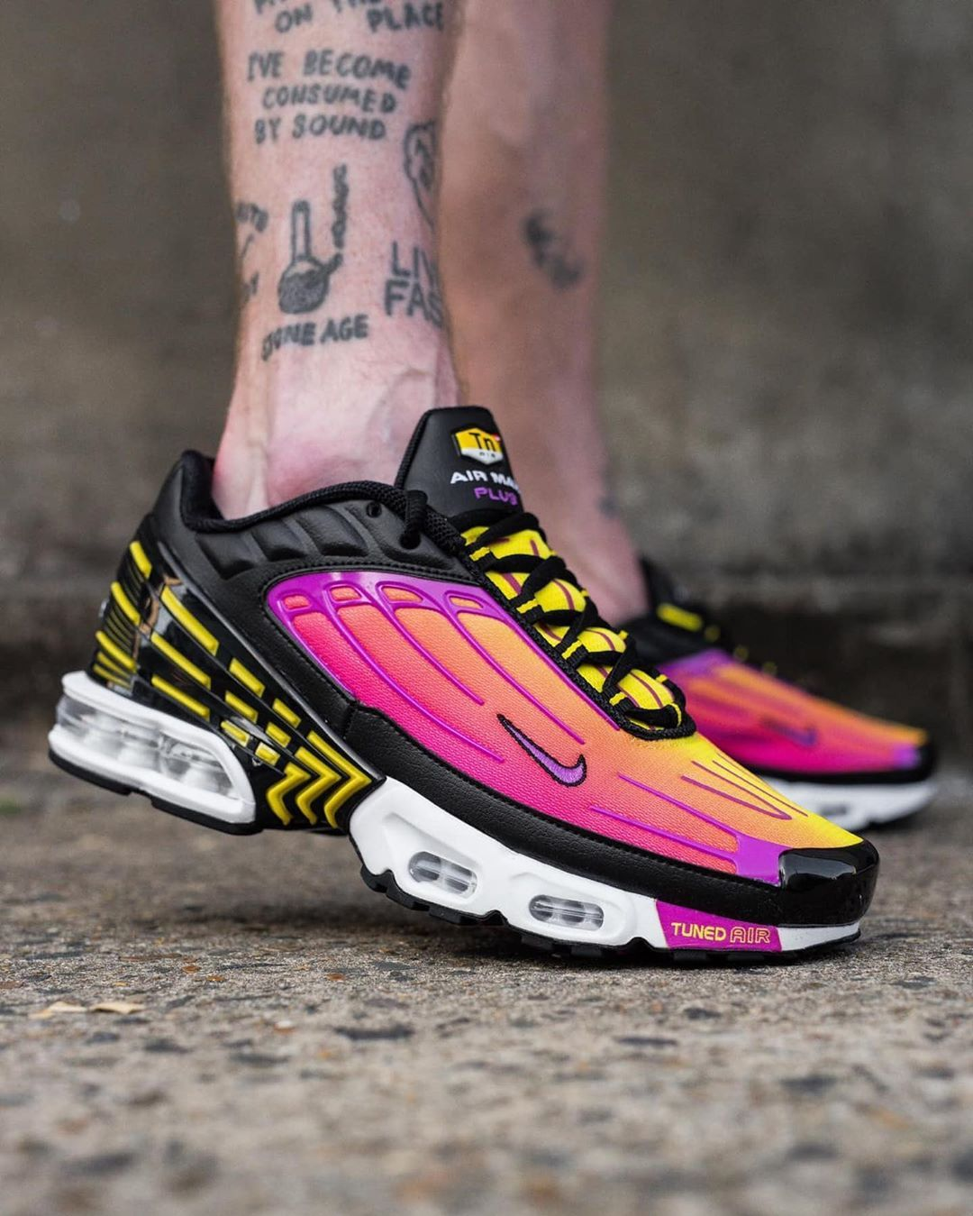 Take an on foot look at the upcoming NIKE AIR MAX PLUS 3 ...