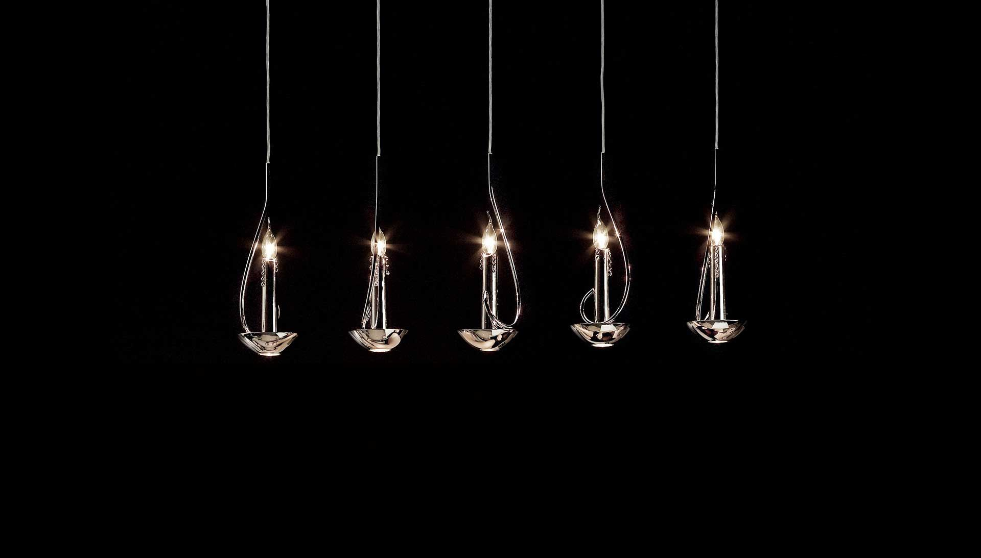 Brand Van Egmond Floating Candles.Floating Candles Chandelier Stainless Steel Designed By William