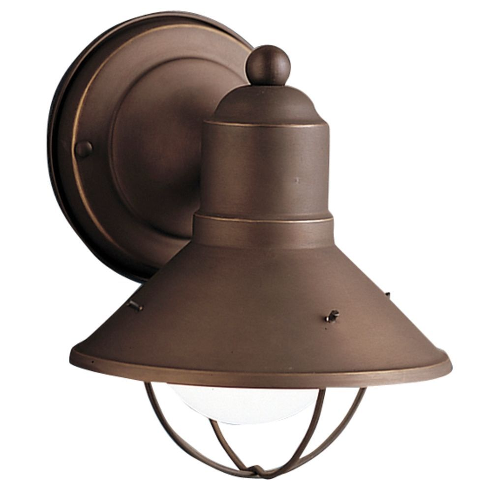 Kichler nautical outdoor wall light in bronze finish outdoor kichler nautical outdoor wall light in bronze finish at destination lighting aloadofball Choice Image