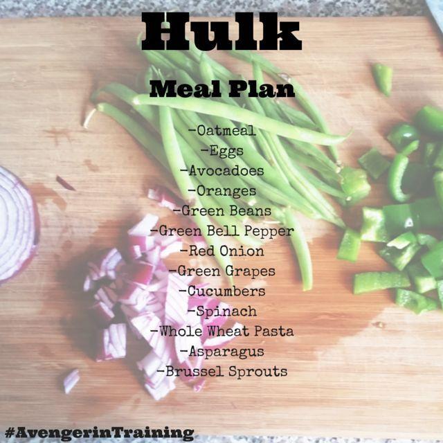 Eat like a champ for Hulk Week #AvengerinTraining