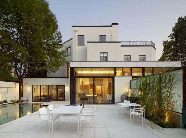DMA architects modern house restoration renovation addition