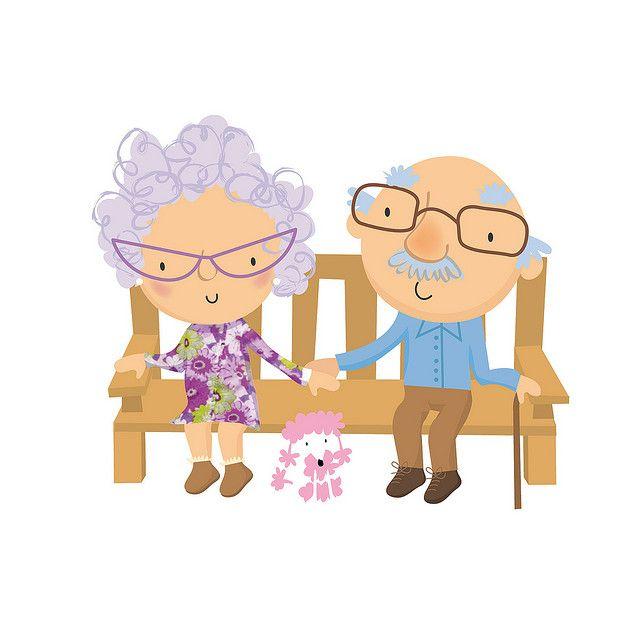 Old Folk Con Imagenes Ilustraciones Dibujos Bonitos Dibujos Cute