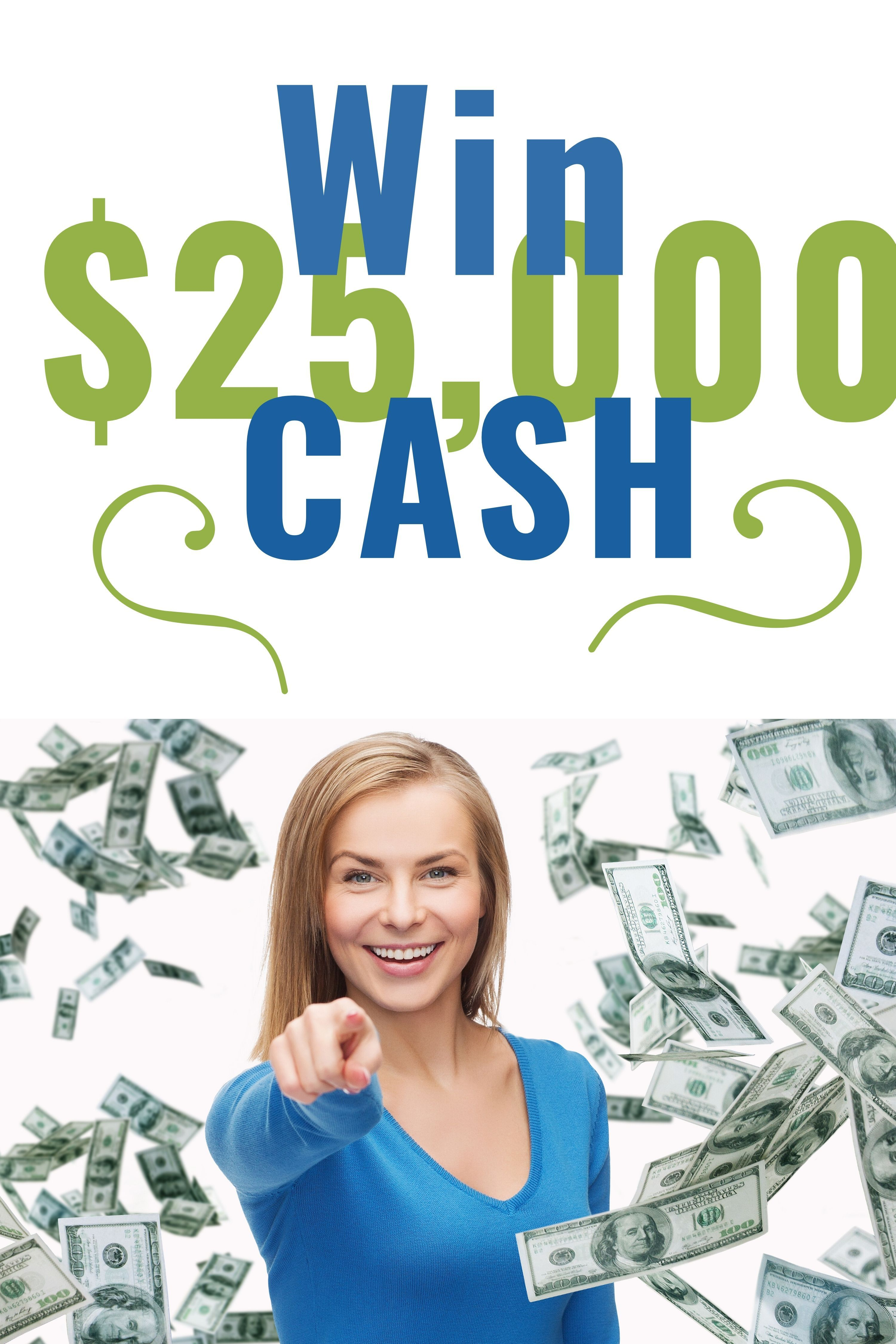 Enter to win 25000 cash 5 first place winners sweeps
