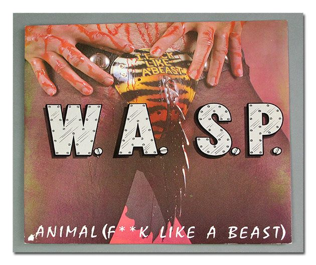 album front cover photo of w a s p