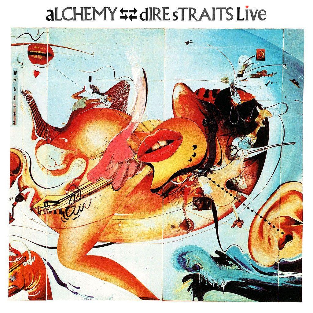 Alchemy Dire Straits Live Dire Straits Rock Album Covers