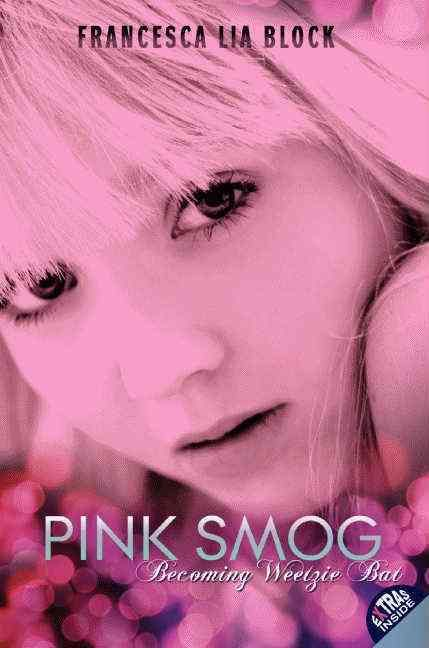Pink Smog , the long-awaited prequel to Francesca Lia Block's groundbreaking novel Weetzie Bat , was praised as an intoxicating mix of mystery, fantasy, and romance by ALA Booklist in a starred review