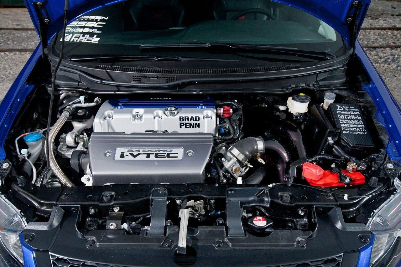 Honda Civic Si Dlya Sema Ot Fox Marketing Honda Civic Honda Civic Si Honda