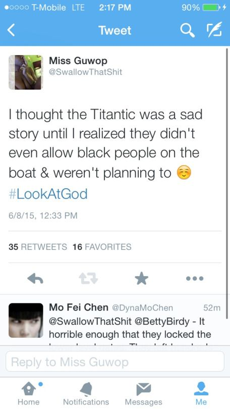 I thought the titanic was a sad story until I realized...
