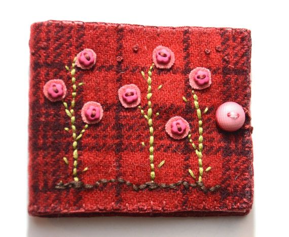 Pinks and Plaids by sandymairart on Etsy