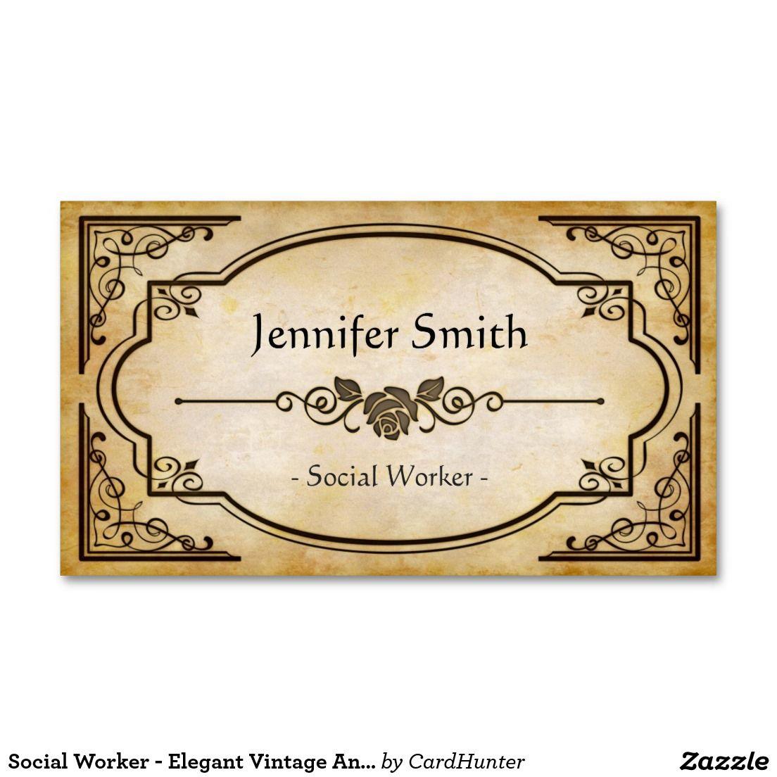 Antique Store Business Cards   Arts - Arts