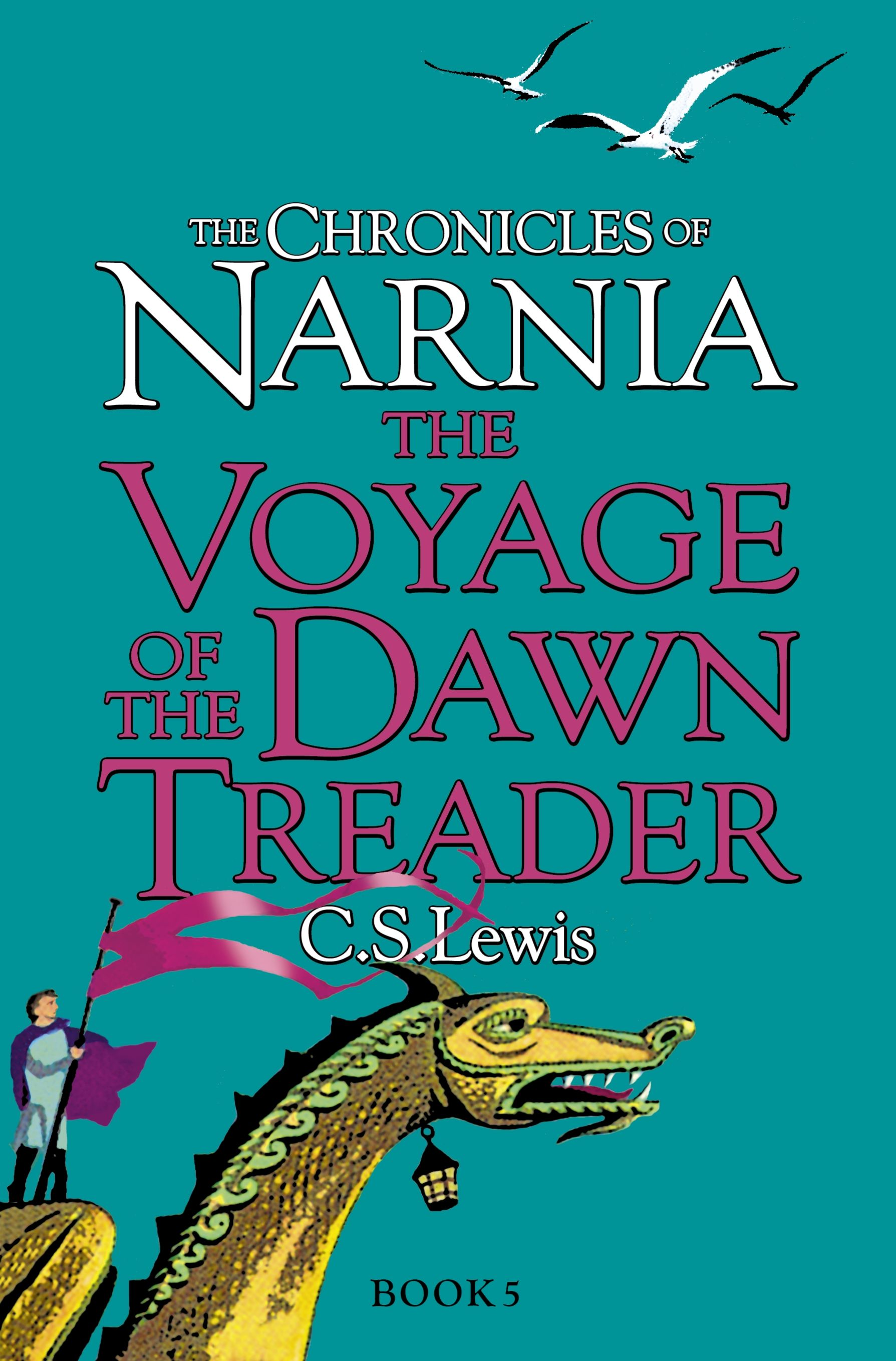 The Voyage Of The Dawn Treader Uk Paperback Edition With Cover