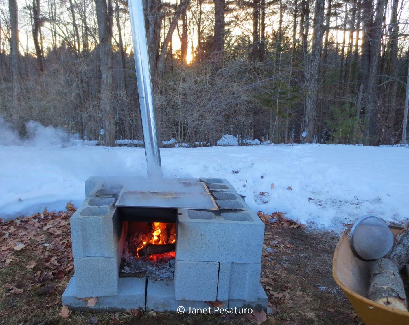 How to Make Maple Syrup II -- Boiling, filtering, canning, color, and  flavor. - How To Make Maple Syrup II: Boiling, Filtering, Canning, Color, And