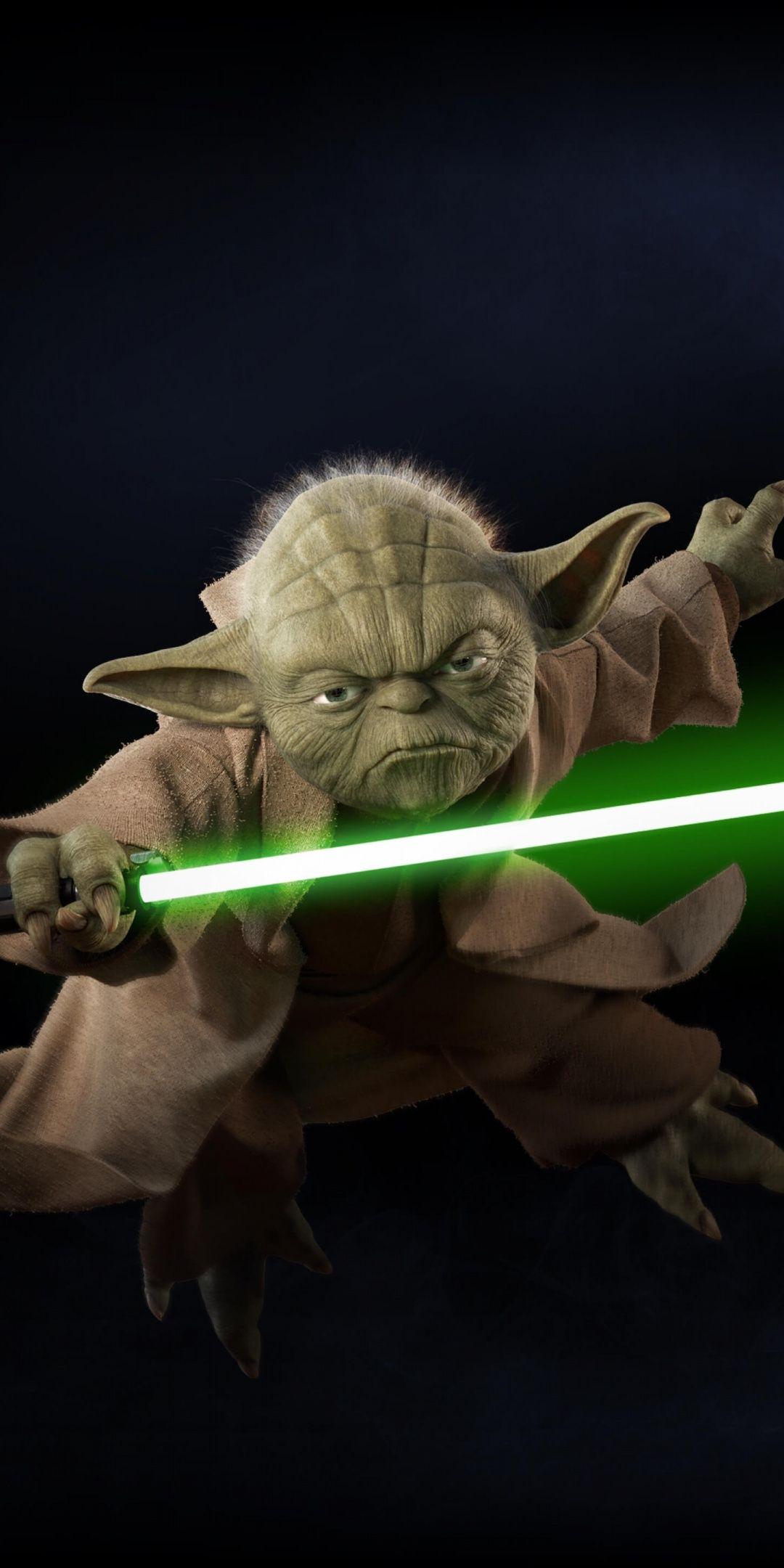Yoda, Star Wars Battlefront II, video game, minimal