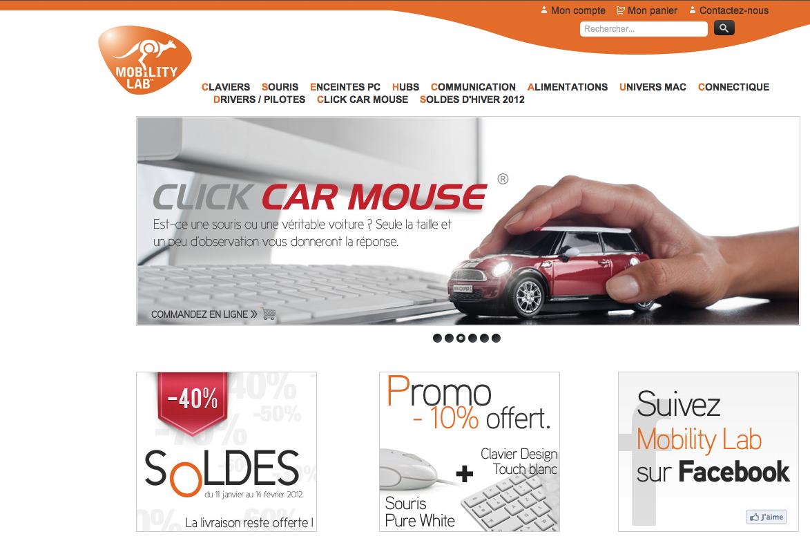 www.mobilitylab.eu  boutique en ligne (magento) dédié à la marque mobilitylab (claviers, souris, etc...)