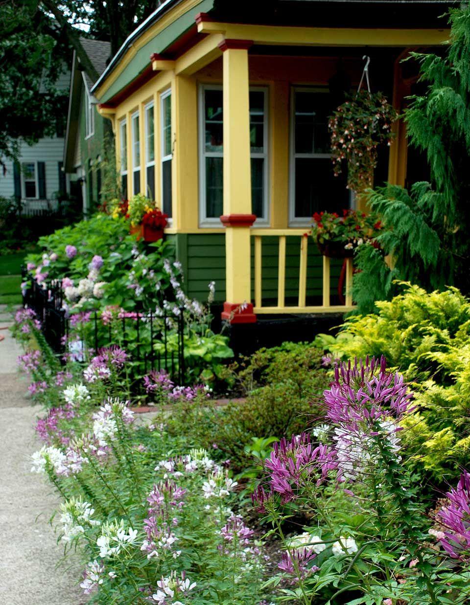 Cottage District, Garden Walk Buffalo NY
