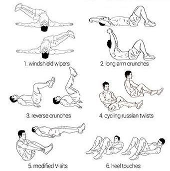 types of sit ups for abs  google search  fitness  sit