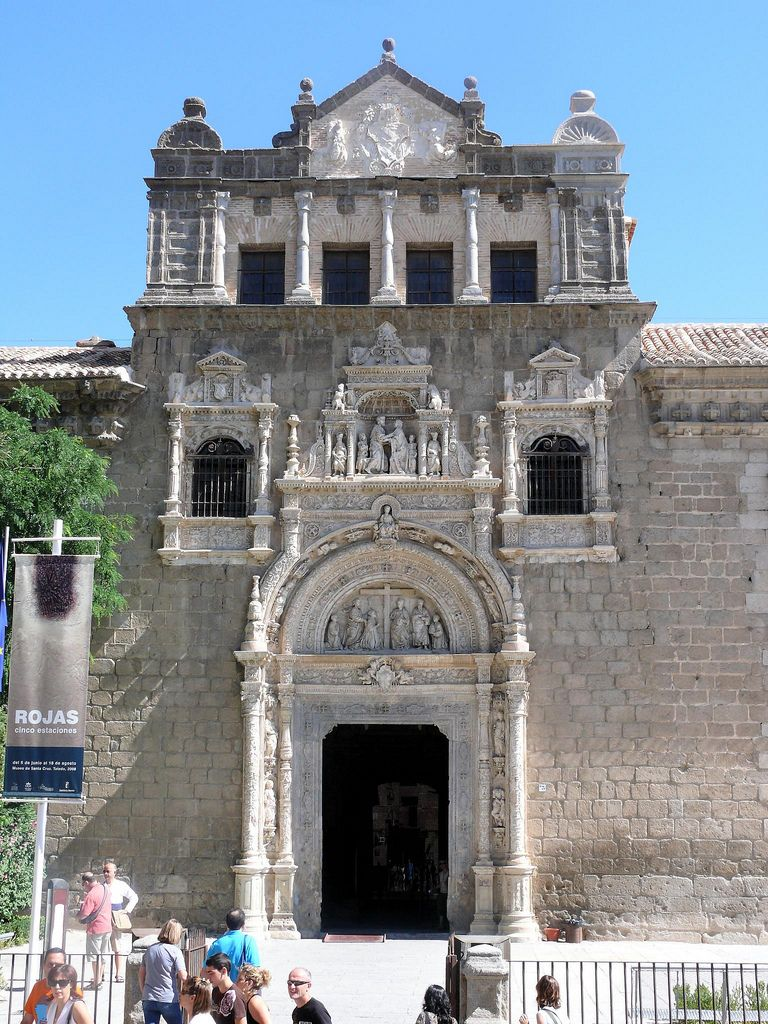 Museo De Santa Cruz.Museo De Santa Cruz Originalmente Era Un Hospital Importante Pero