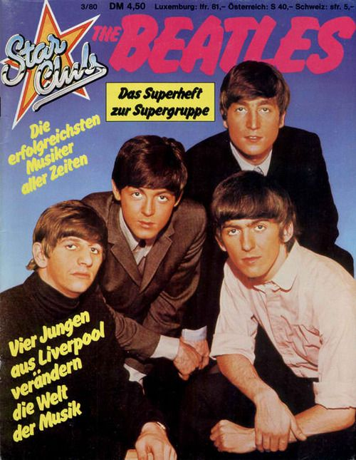 THE BEATLES (with DARK tans! lol)