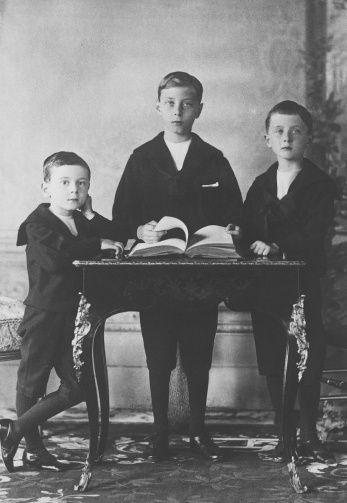 Alexander Albert, Leopold Arthur and Maurice Victor