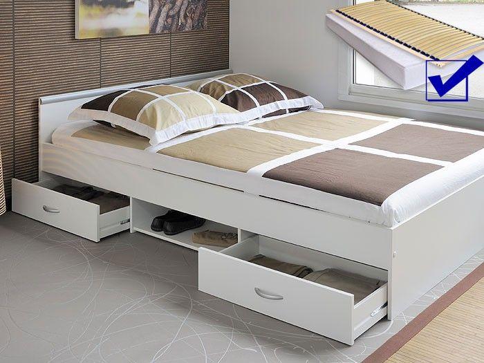 Billige Betten 140x200 ~ Billig bett mit matratze und lattenrost 140x200 günstig deutsche