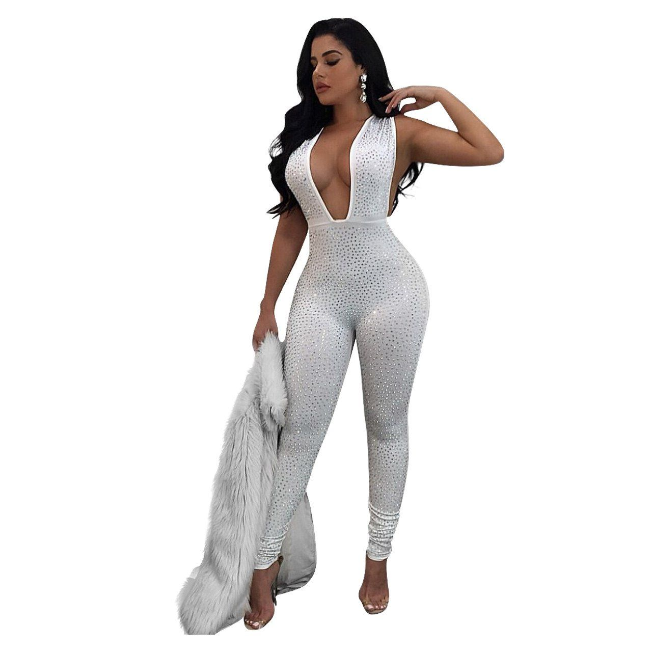 506611c56d4 Polyester sexy Jumpsuits   Rompers Polyester sexy Jumpsuits   Rompers