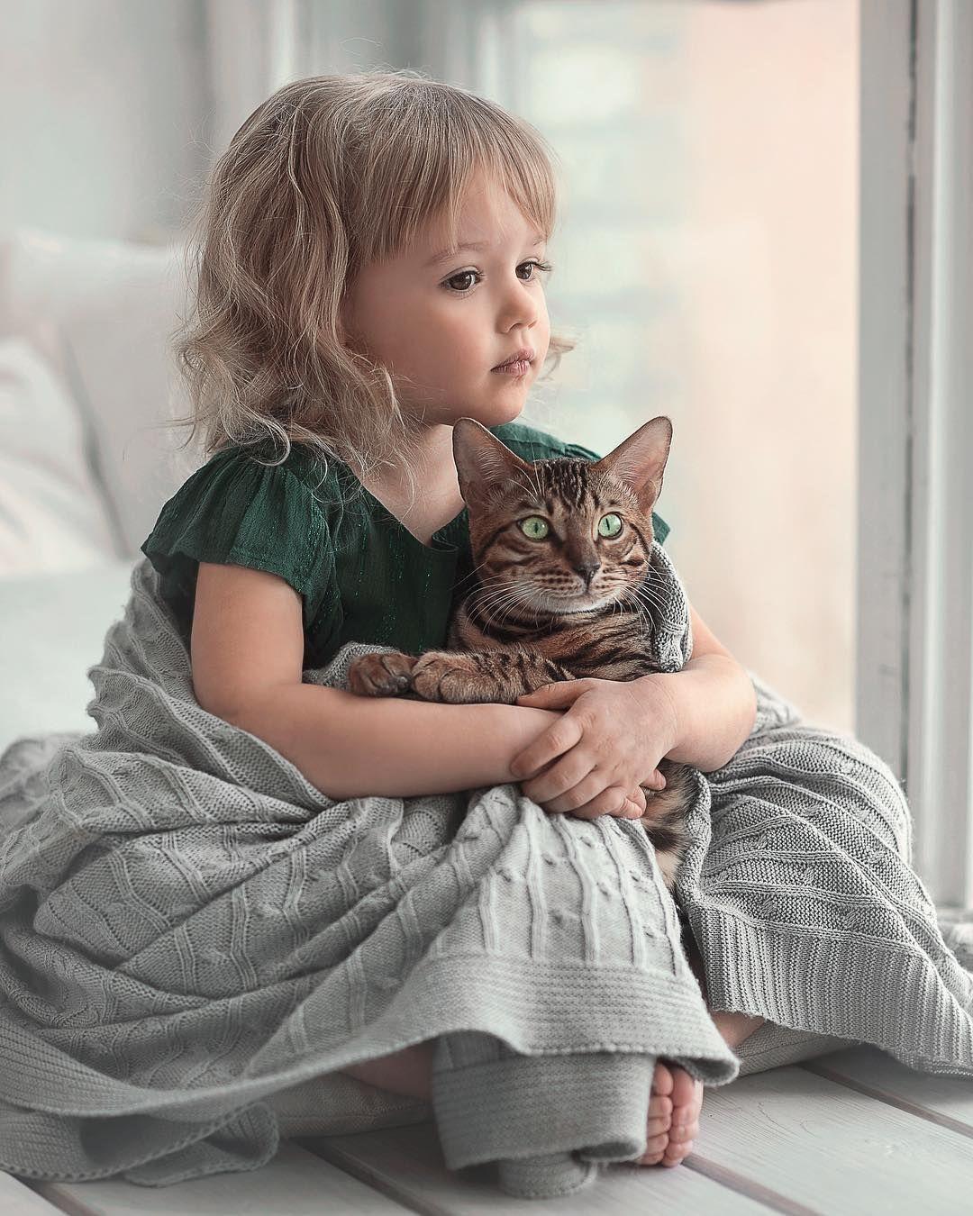 Доброе утро картинки детям с животными, память близких