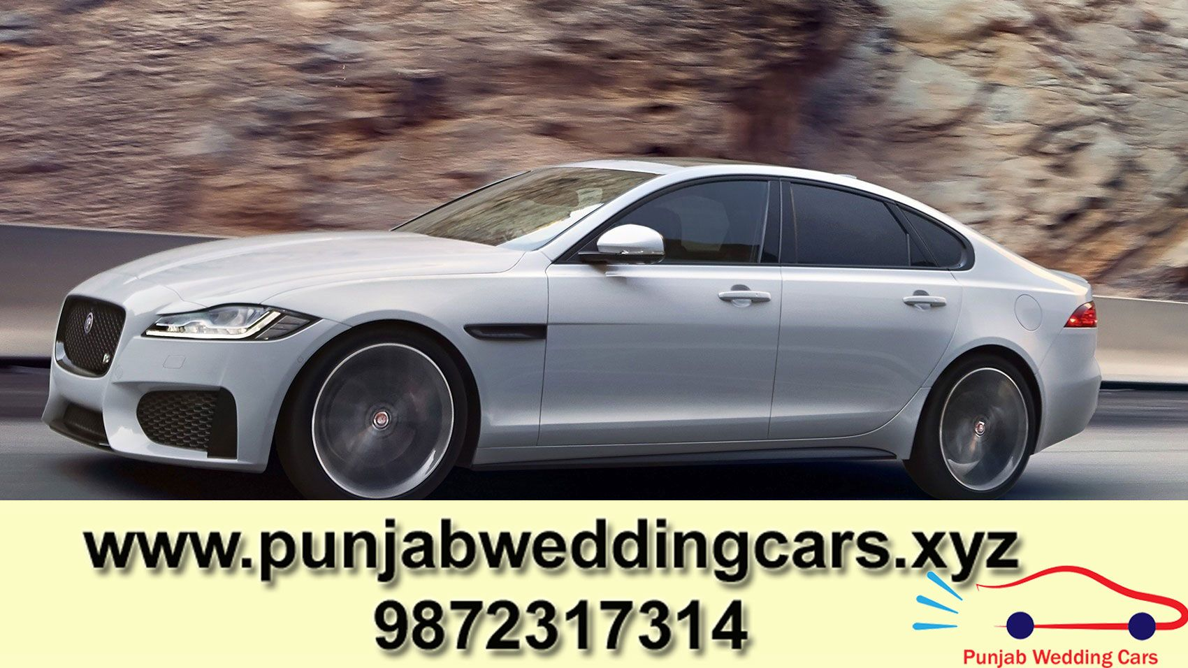 Best Luxury Rental Wedding Car Jaguar Xf In Punjab We Provide You Best Car Rentals In Punjab Book Your Luxury Super Car Bugatti Car Decor Luxury Car Rental
