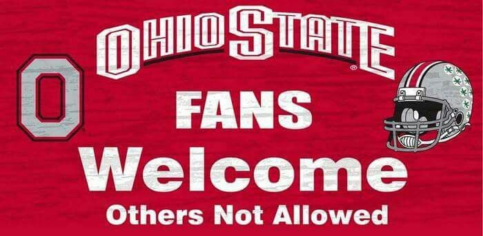 ☆OHIO STATE FANS WELCOME☆