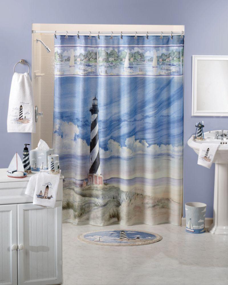 Lighthouse Shower Curtains Bathroom Decor Sets Bathroom Decor