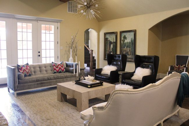 Modern French Living Room Decor Ideas: Style Of Sam, Eclectic Living Room, Royal Regency