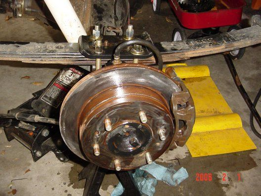 Nissan Nut Rear Disc Brake Conversion - H233B from a