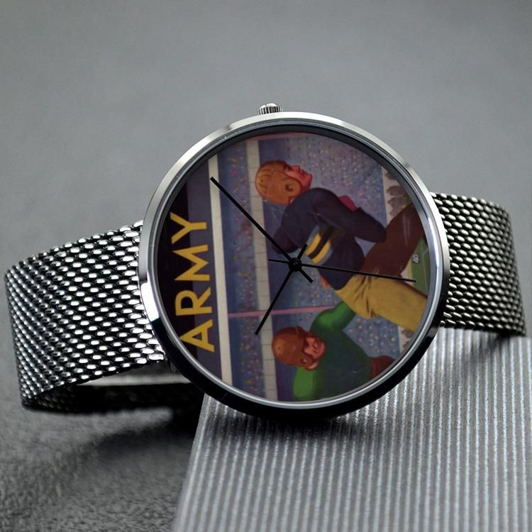 1934 Vintage Army Football Watch By Coolstub Watch Design Made From An Authentic 34 Army Football Progr Fashion